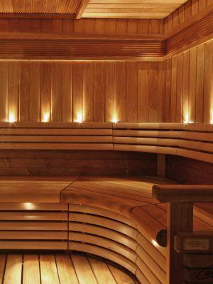Lys i sauna