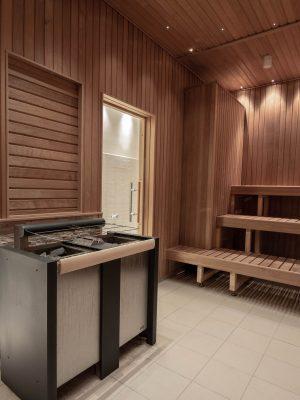 Vedligehold af sauna